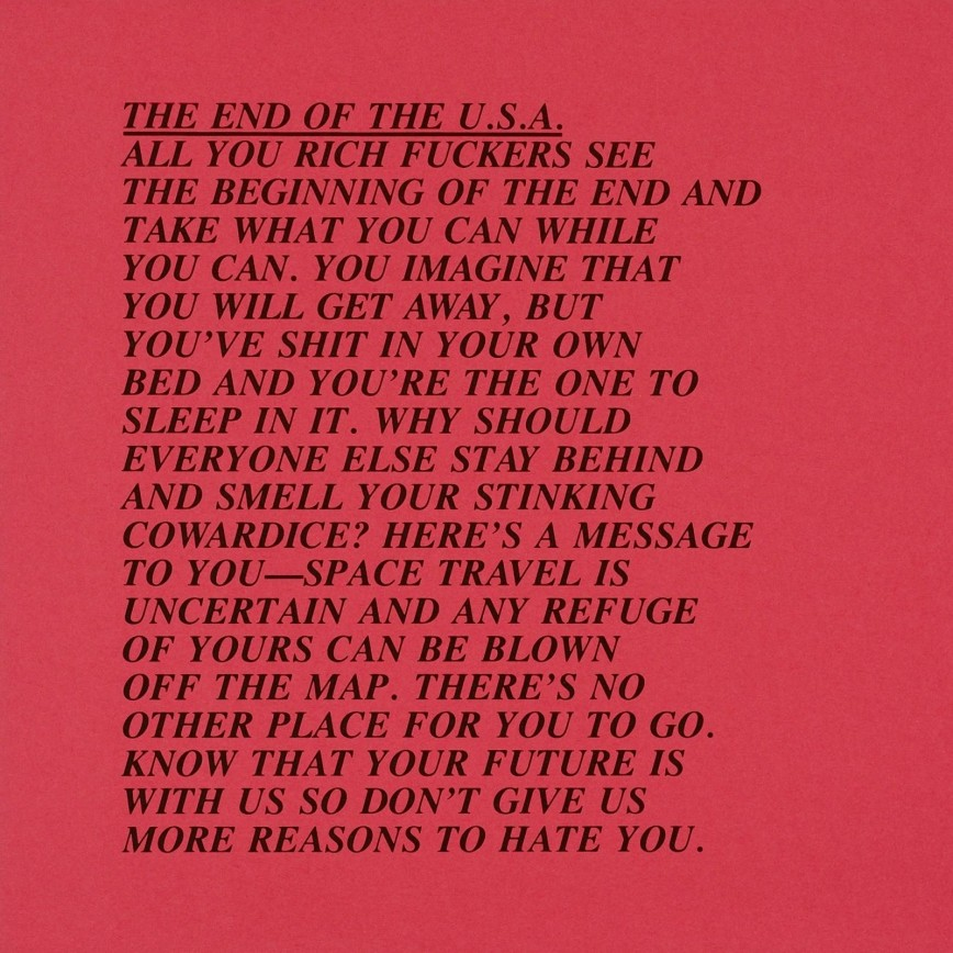 010 Jenny Holzer Inflammatory Essays Essay Awful For Sale Print Buy