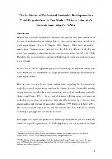 010 Leadership Experience Essay Literaturereviewonyouthleadership Phpapp01 Thumbnail Dreaded For Scholarship Describe Your Examples 360