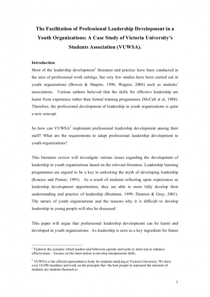 010 Leadership Experience Essay Literaturereviewonyouthleadership Phpapp01 Thumbnail Dreaded For Scholarship Describe Your Examples 728