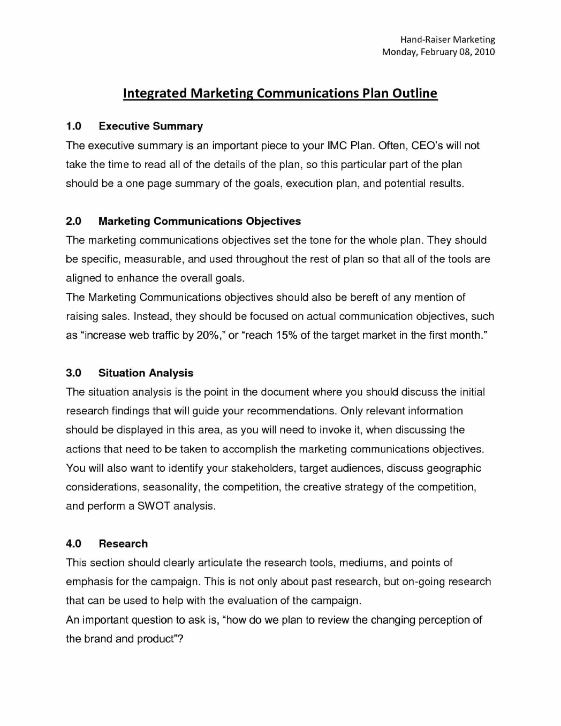Student papers on marketing