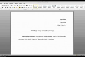 010 Maxresdefault Essay Setup Stirring Persuasive Format Mla College Layout Sample Narrative Instructions