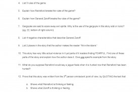 010 Mostdangerousgametestreview Essay Example The Most Dangerous Impressive Game Study Questions And Answers Discussion
