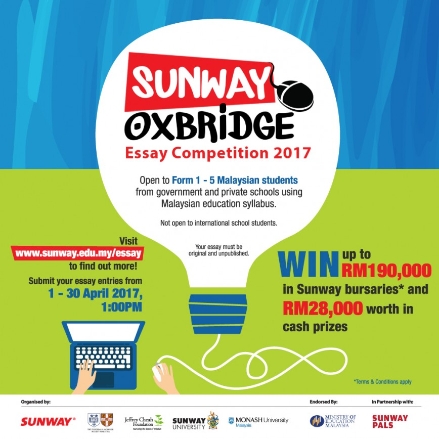 010 Oxbridge2017 A1poster V2 Ol 1000x10002bfb Essay Example Contest Staggering 2017 Writing Philippines Competition Uk Malaysia