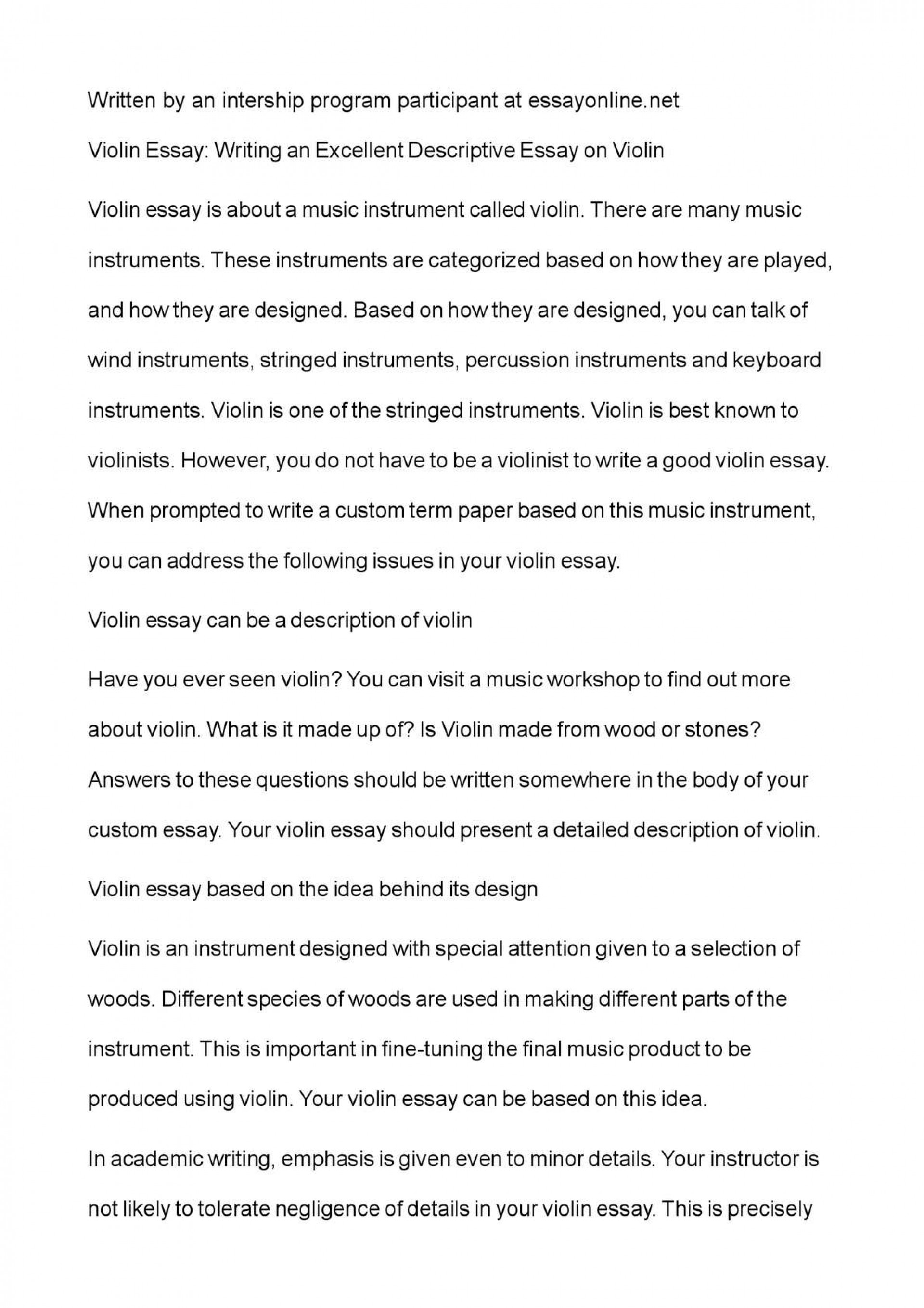 010 P1 Example Of Descriptive Wondrous Essay About A Place Love Pdf Introduction 1920