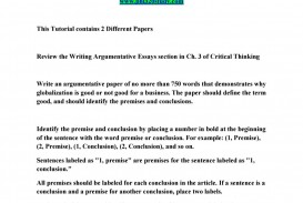 010 Page 1 Globalization Conclusion Essay Wonderful 320