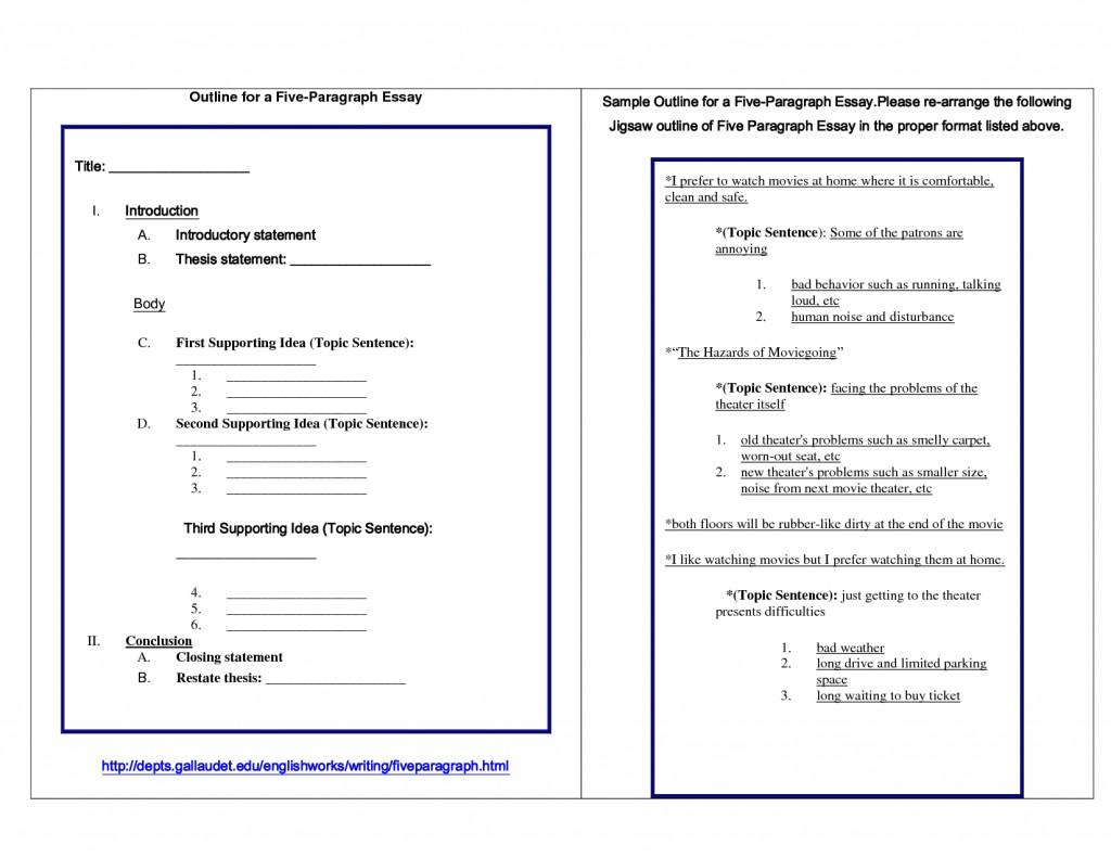 010 Paragraph Essay Format Example Bunch Ideas Of Outline Persuasive Template Az Unique Dreaded 5 Five Pdf Large