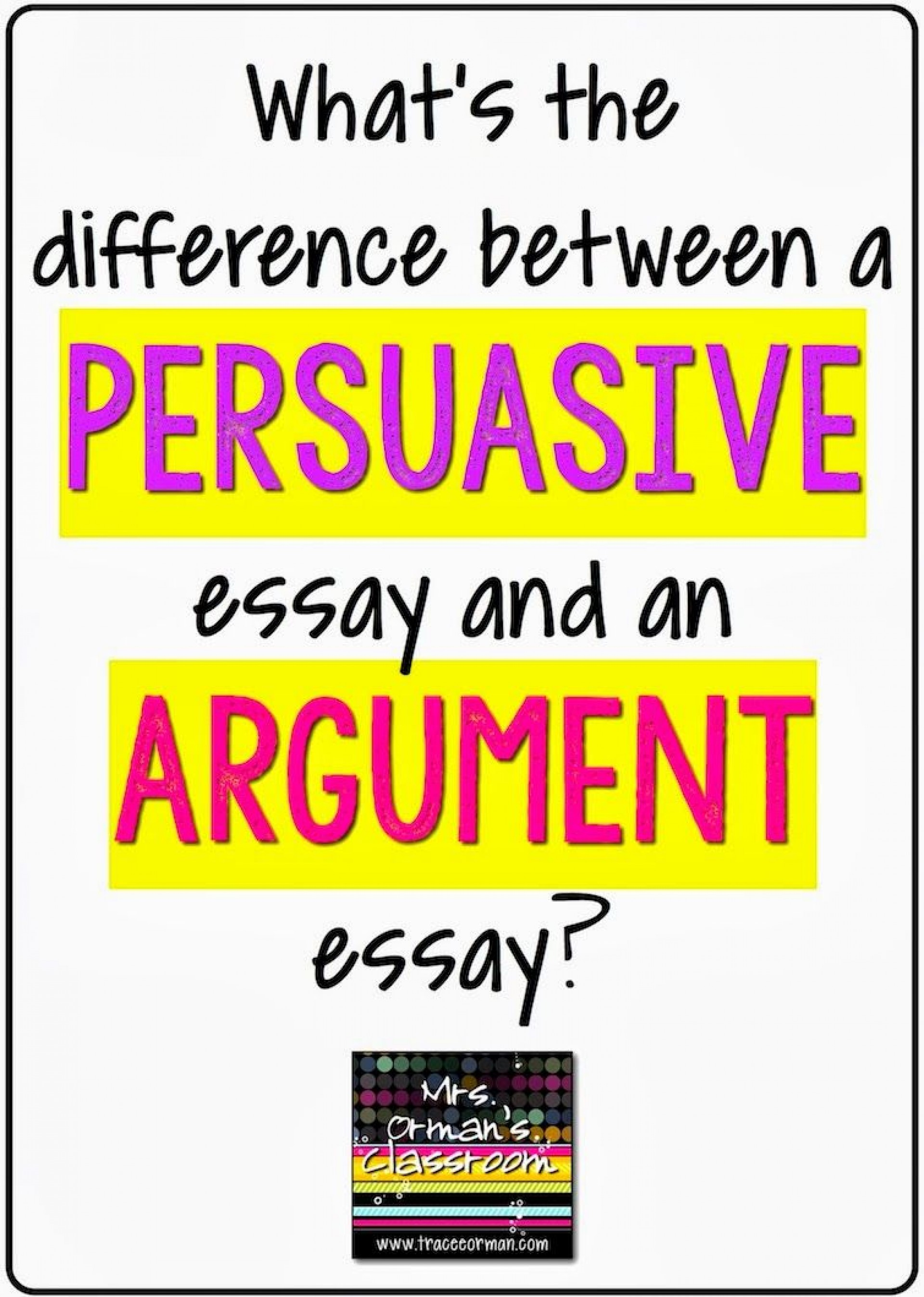 010 Persuasive Vs Argumentative Essay Example Awful Are And Essays The Same Differentiate 1920