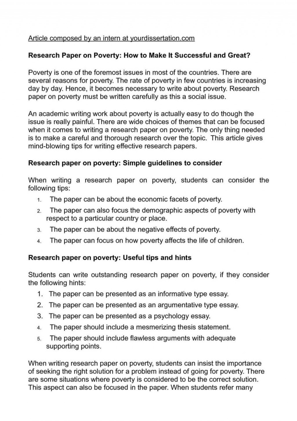 010 Research Paper On Poverty How To Make It Successful And Essay Writing In Pakist India Pakistan 1048x1483 Example Problem Wondrous Of Solution Large