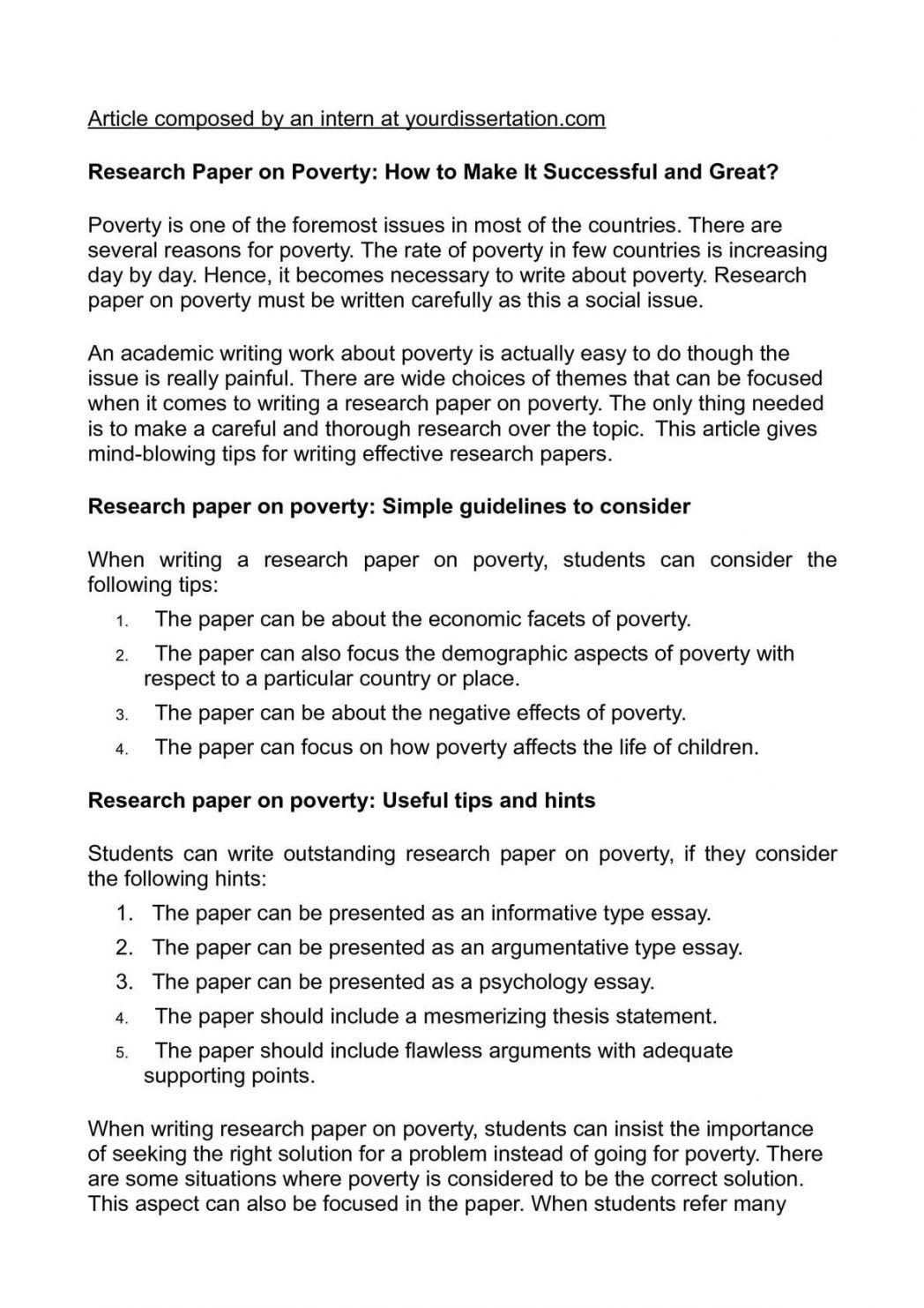 010 Research Paper On Poverty How To Make It Successful And Essay Writing In Pakist India Pakistan 1048x1483 Example Problem Wondrous Of Solution Full
