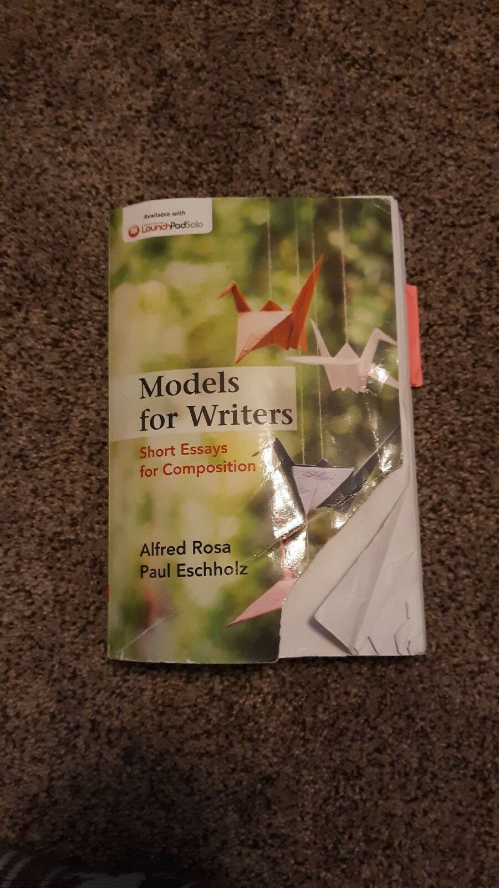 010 S L1600 Essay Example Models For Writers Short Essays Singular Composition 12th Edition 13th Pdf 1920