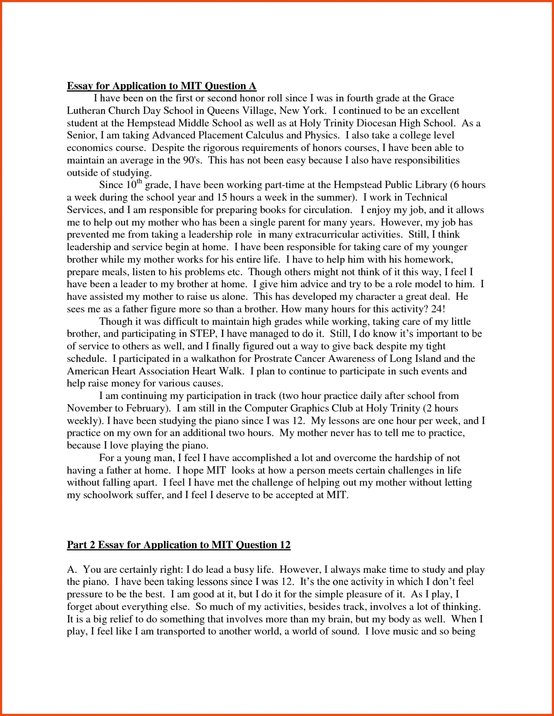 010 Sample College Essay Job Application Winning Essays Examples L Example How To Write The Staggering Perfect A Good Nytimes 1920
