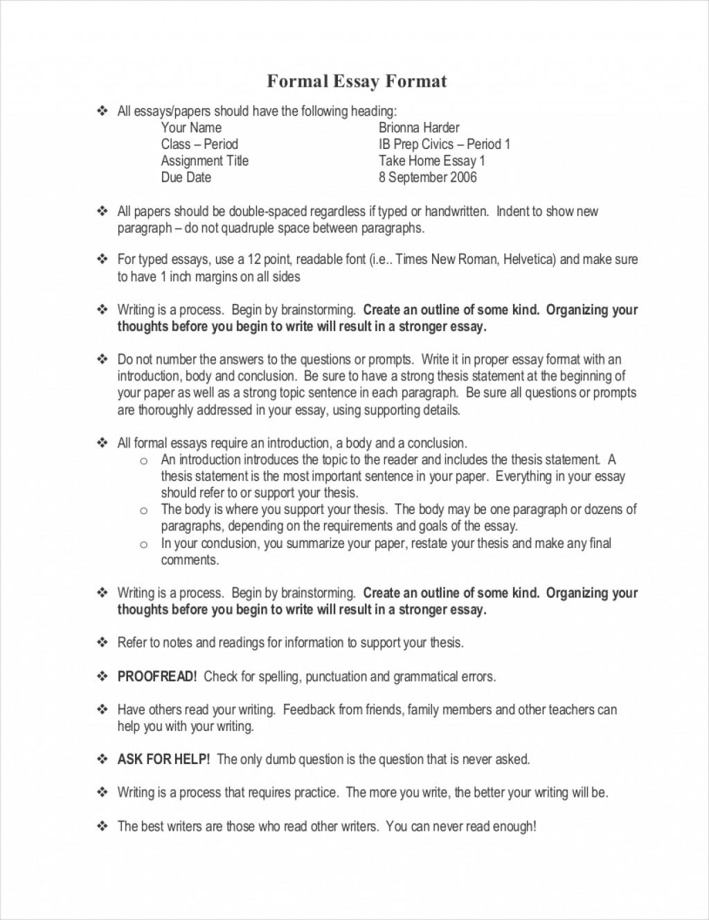 Apa style academic essay