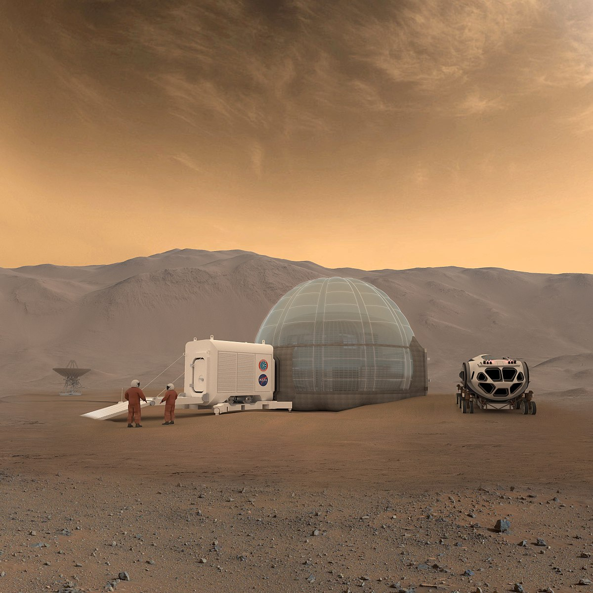 010 Settlement On Mars Essay 1200px Ice Home Concept Remarkable Full