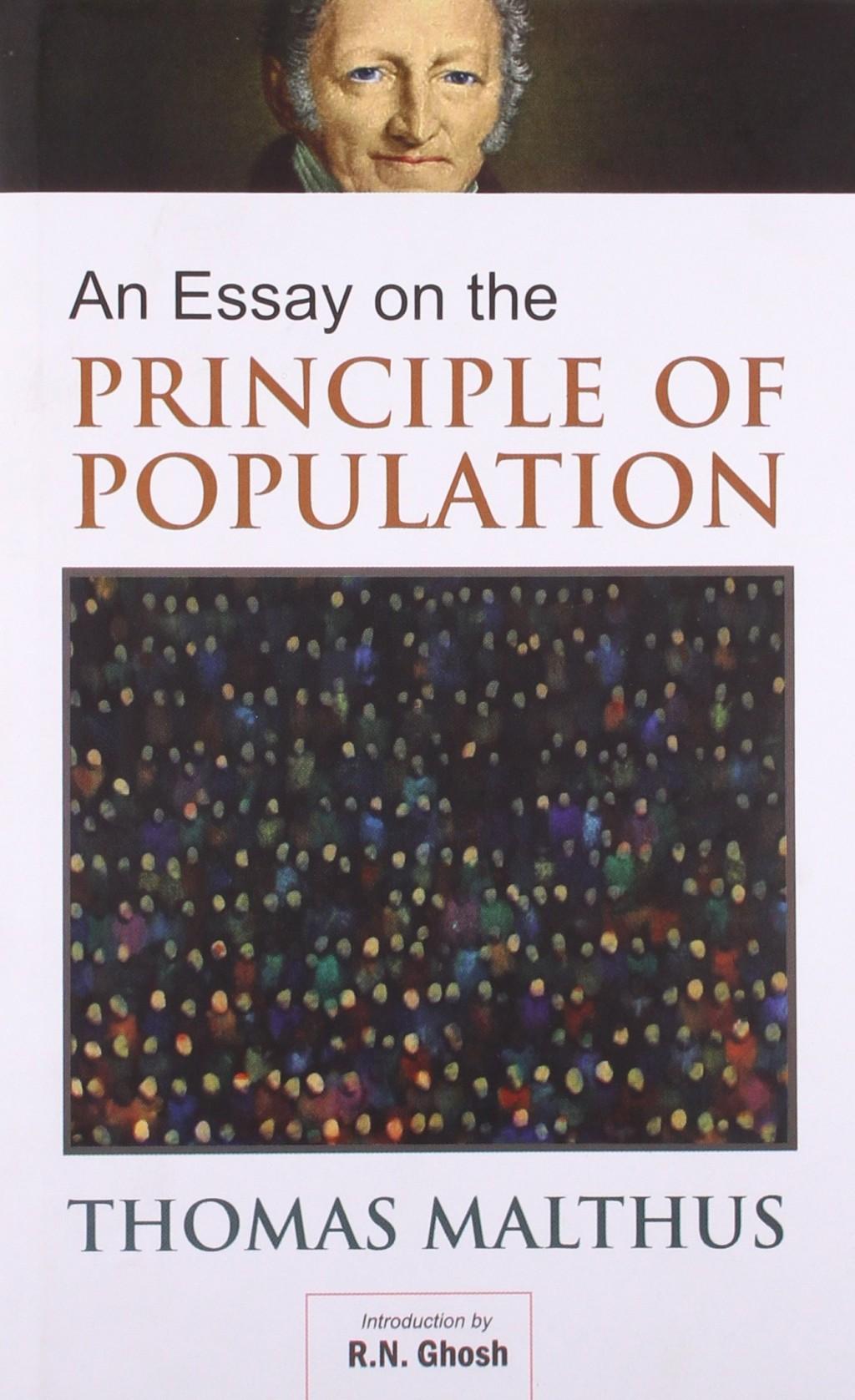 010 Thomas Malthus Essay On The Principle Of Population 8162bfm1ycfl Stupendous After Reading Malthus's Principles Darwin Got Idea That Ap Euro Large