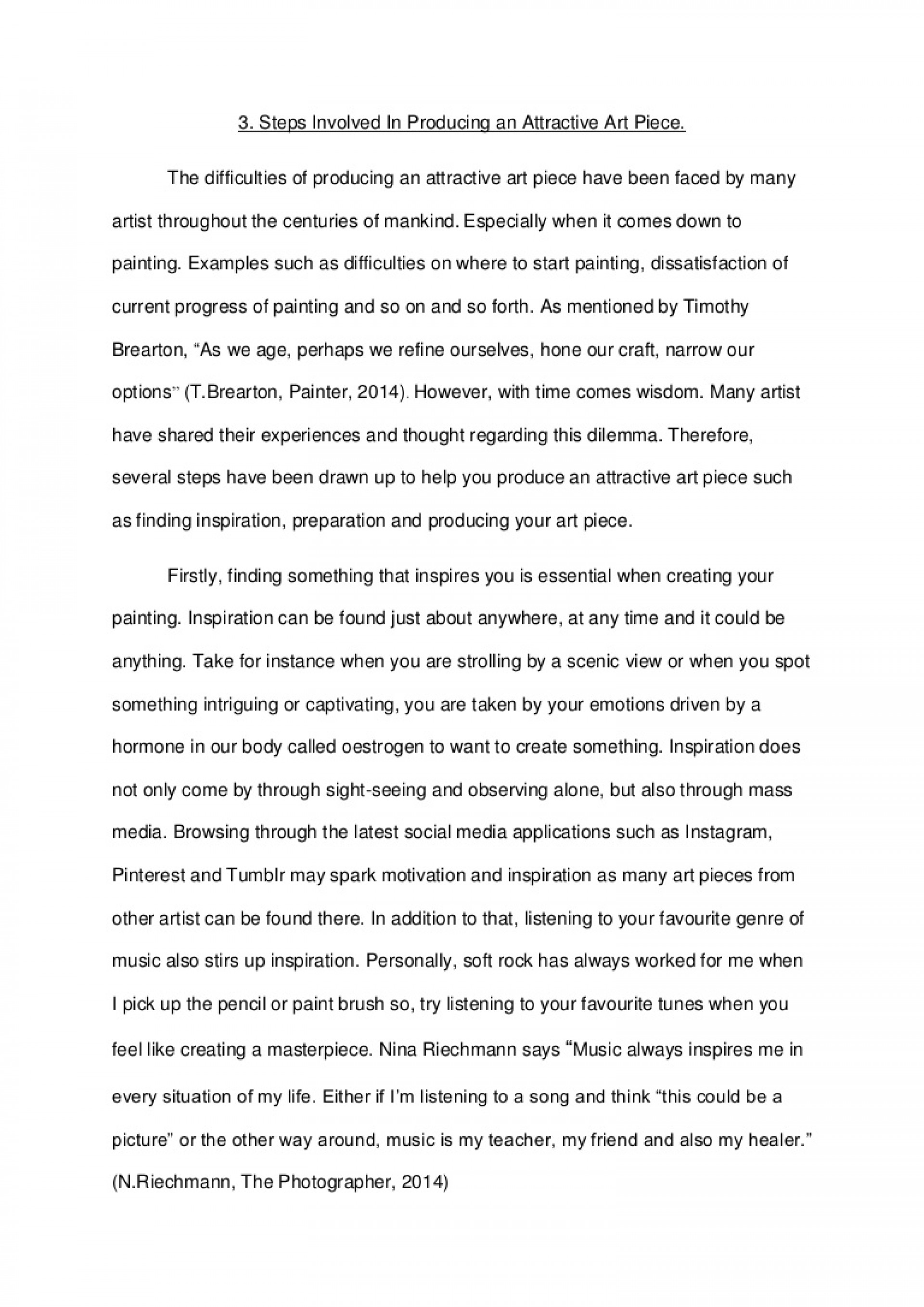 010 What Inspires You Essay Example Englishessayartpiece Lva1 App6892 Thumbnail Phenomenal Narrative About A Person Who Inspired College 1920
