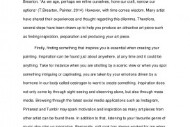 010 What Inspires You Essay Example Englishessayartpiece Lva1 App6892 Thumbnail Phenomenal Narrative About A Person Who Inspired College