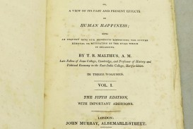 011 13726403944 5 Essay On The Principle Of Population Singular Pdf By Thomas Malthus Main Idea
