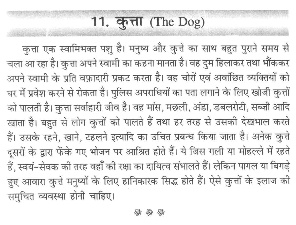 011 Aa110 Thumb Essay On Love For Animals In Hindi Fascinating Towards And Birds Full