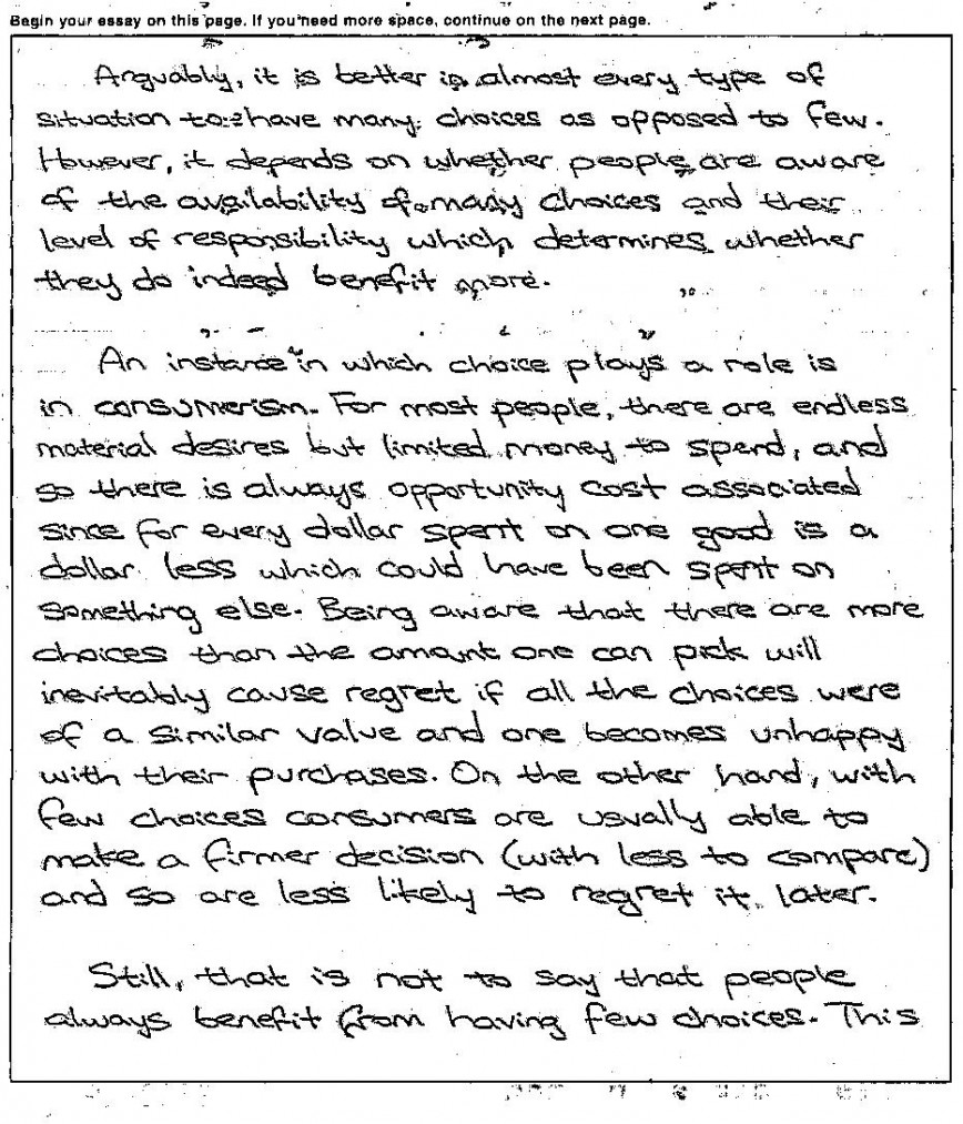 011 Act Sample Essays Essay Example Awesome New Writing