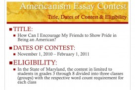 011 Americanism Essay Contest Title Dates Of Eligibility L Astounding Amvets 2017 For Grades 7–12 Education Leaders