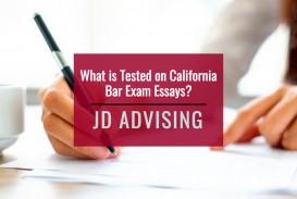 011 California Bar Essays Essayple Marvelous Exam Graded February 2018 How Are