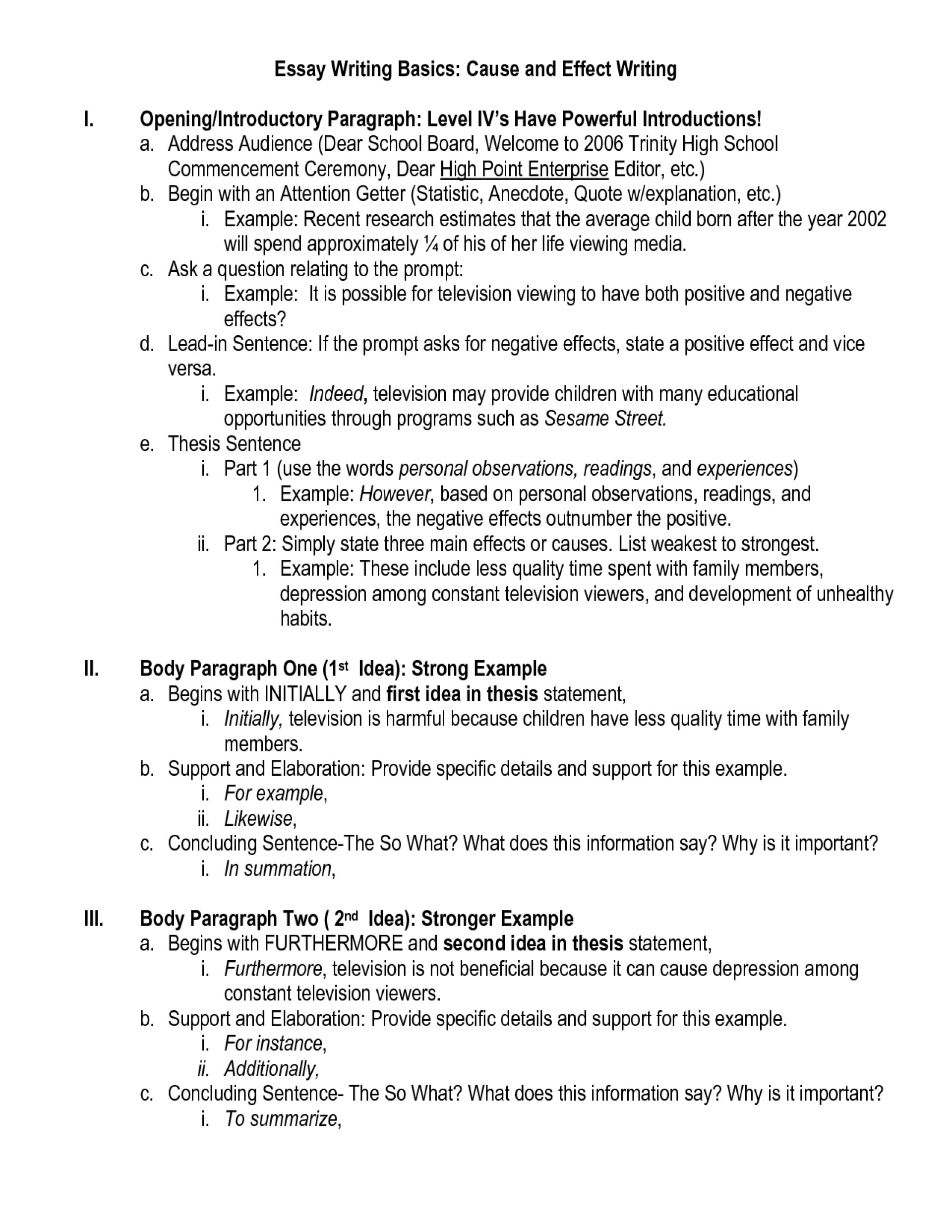 011 Causend Effect Essay Sample Resume Writing Best Website Example How To Write Fearsome A Cause And Good Step By 1920