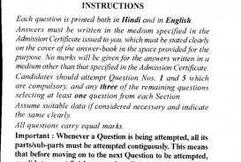 011 Civil Services Examination Commerce And Accountancy Paper Ii Previous Years Que Essay Example Marvelous Racism Conclusion Pdf Tkam