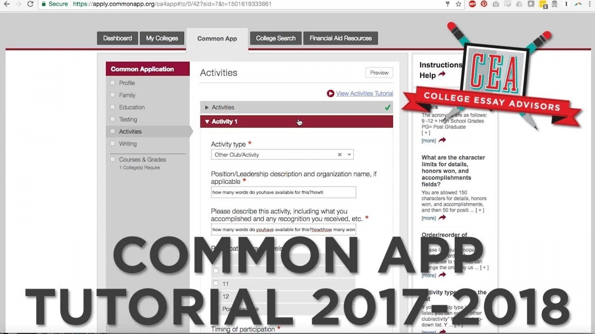 011 College Essays Maxresdefault Essay Frightening 2017 Best Prompts Boston Scholarship 1920