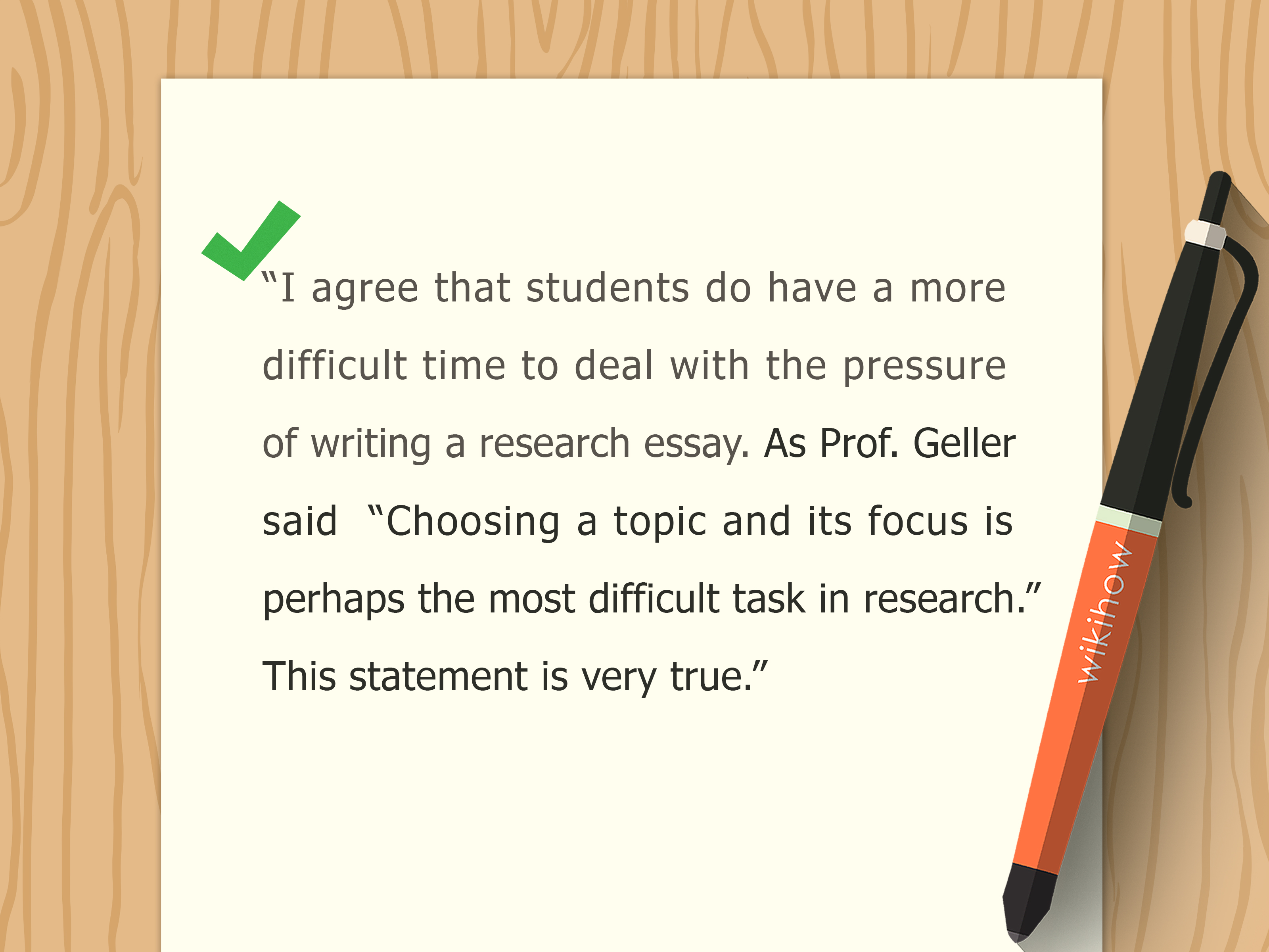 011 College Level Essay Example How To Write Reflection Paper Wikihow Do You Step Vers Steps Of Outline Best Way Introduction Tips For Exceptional Persuasive Examples Argumentative Topics Full