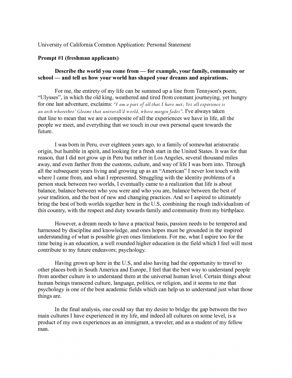 011 Collegecation Essays Words Berkeley Personal Statement Template Pcffemqy Student Life About Health This Will Attempt To Awesome 1024x1325 Immigration Unusual Sybil Baker Introduction Full