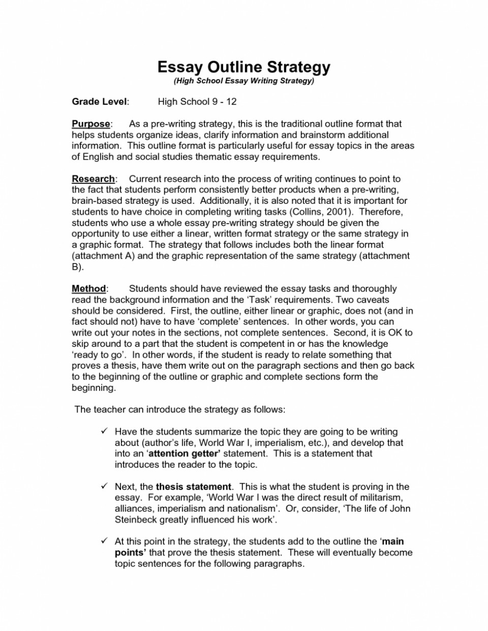 011 English Essay Outline Example Essays About Teaching As Foreign Language Class Global Learning Grammar Literature Magnificent Ap And Composition Liberty University 101 1 960