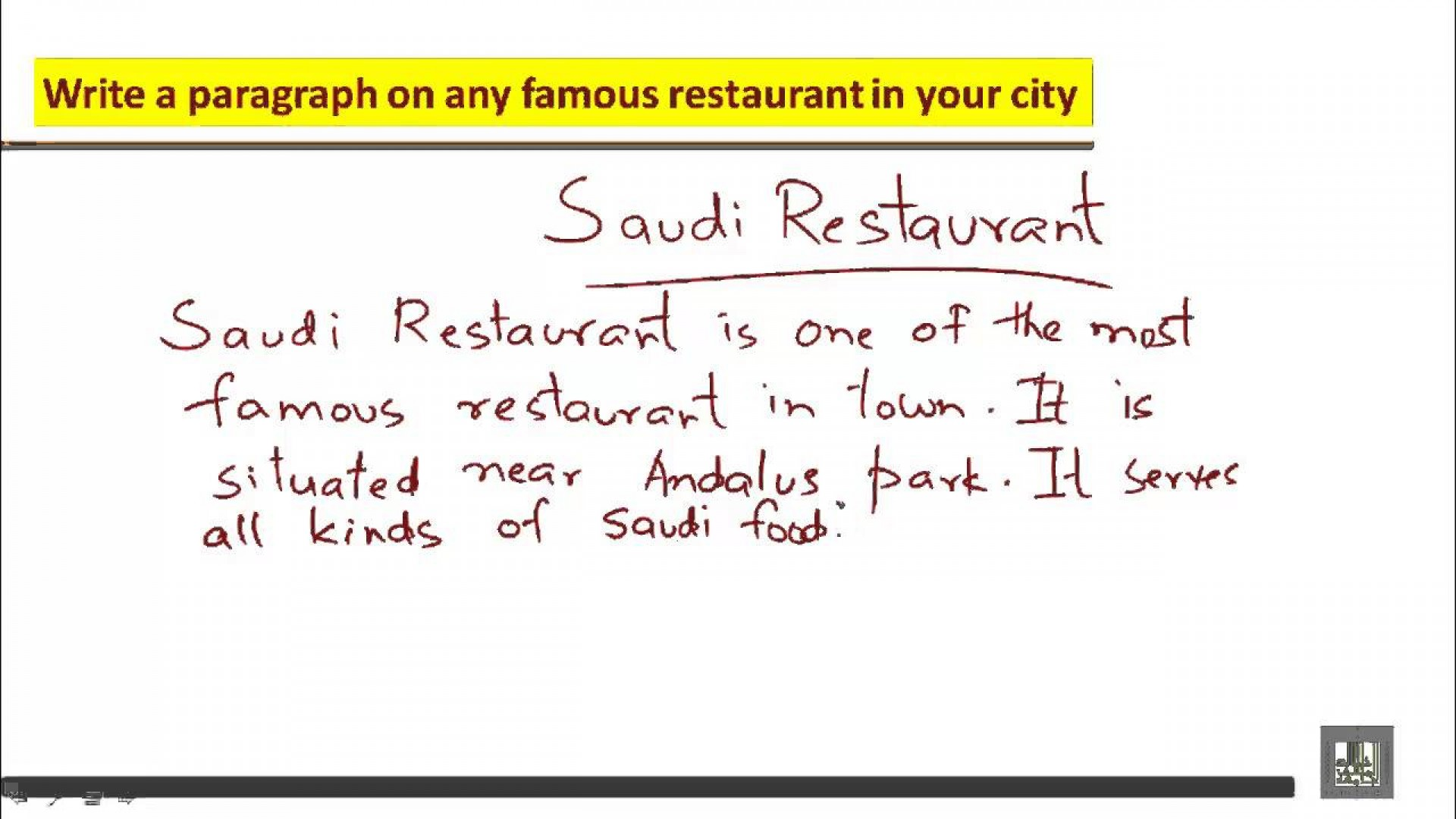 011 Essay About Favorite Restaurant Example Beautiful Your Write An 1920