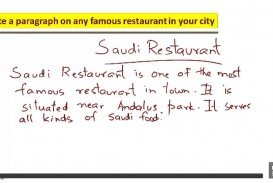 011 Essay About Favorite Restaurant Example Beautiful Your Write An