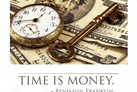 011 Essay About Time Is Money Old Pocket Watch Cash Skeleton Key Concept Image Quote Bottom Benjamin Franklin Frightening On In Urdu Hindi