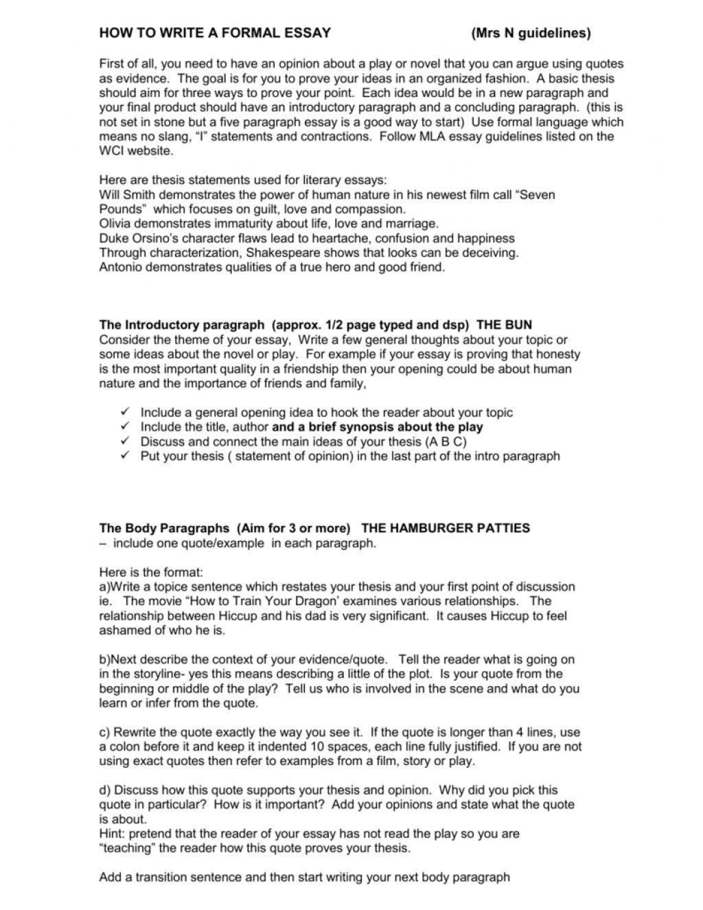 011 Essay Example 008001307 1 Literature Unbelievable Introduction Sample Literary Format Large