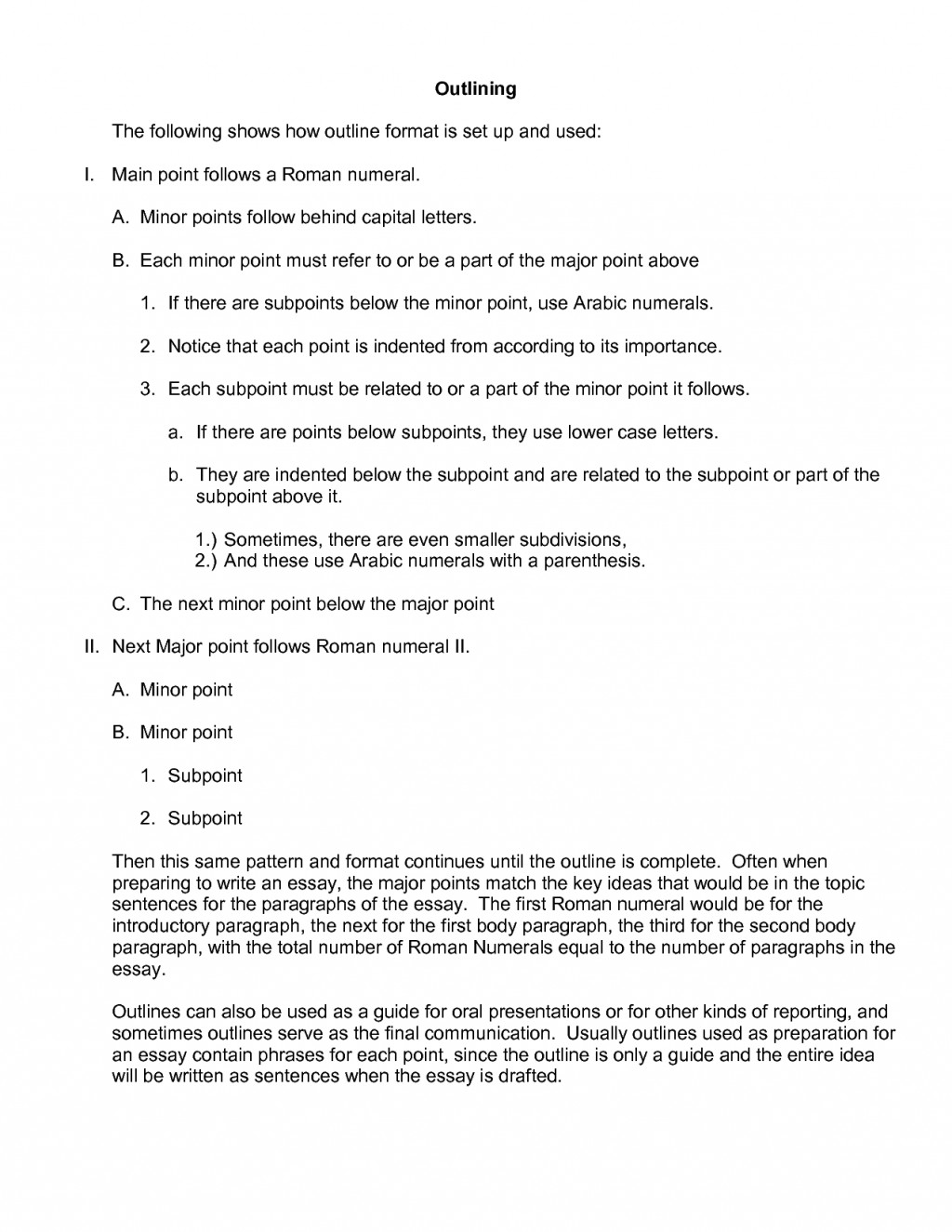 011 Essay Example Apa Best Outline Style Layout Paper Reflection Large