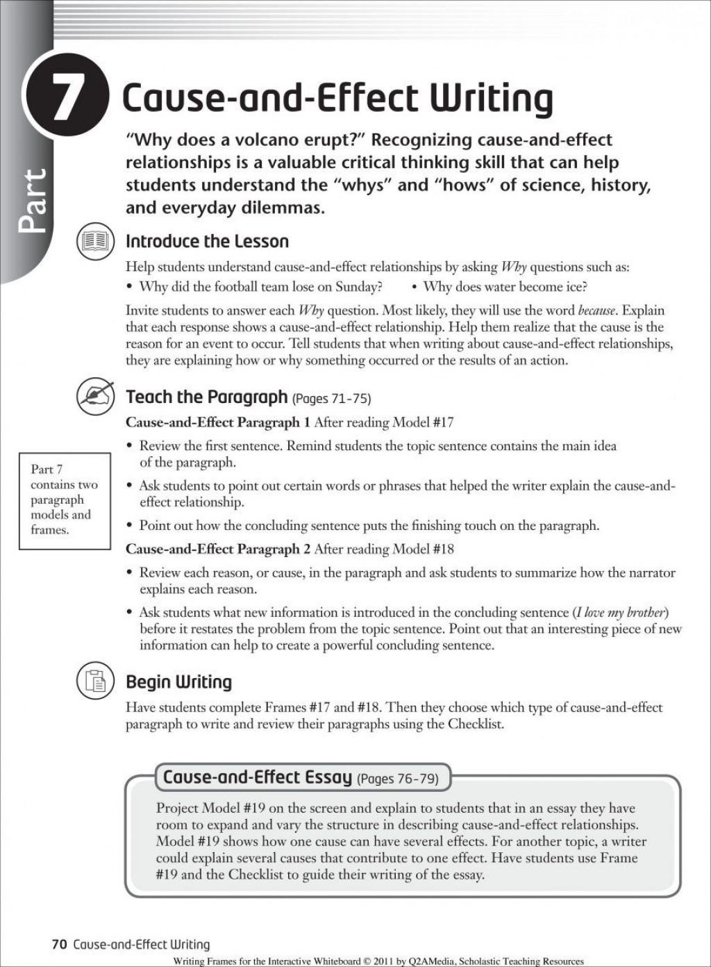 011 Essay Example Causal Argument Topics Imposing Topic Ideas Good Large