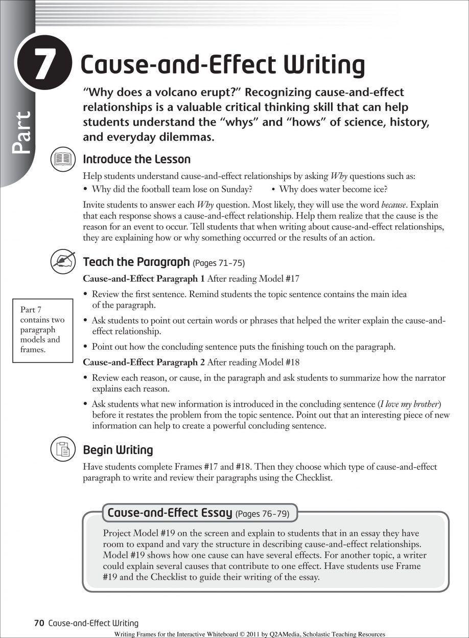 011 Essay Example Causal Argument Topics Imposing Topic Ideas Full