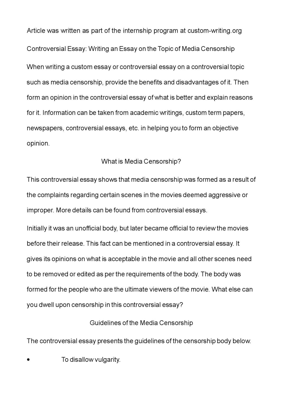 011 Essay Example Controversial Best Topics For High School Students Outline Format On Immigration Full
