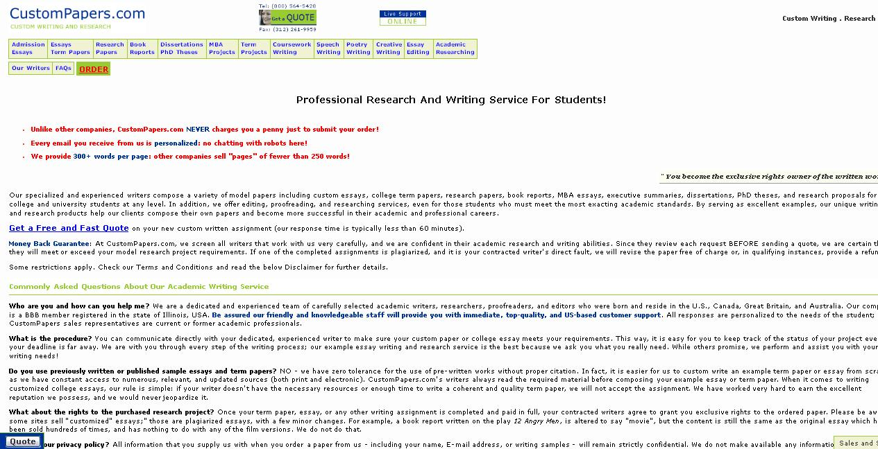 011 Essay Example Customessay Custom Papers Paper Mba Admission Review Of Dissertation Writing Service Customp Pro Outstanding Reviews Writer Full