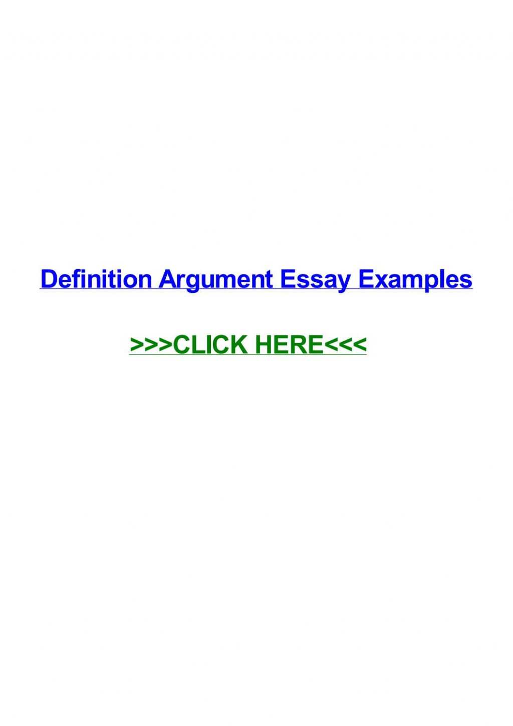 011 Essay Example Definition Argument Examples Page 1 Impressive Definitional Sample Large