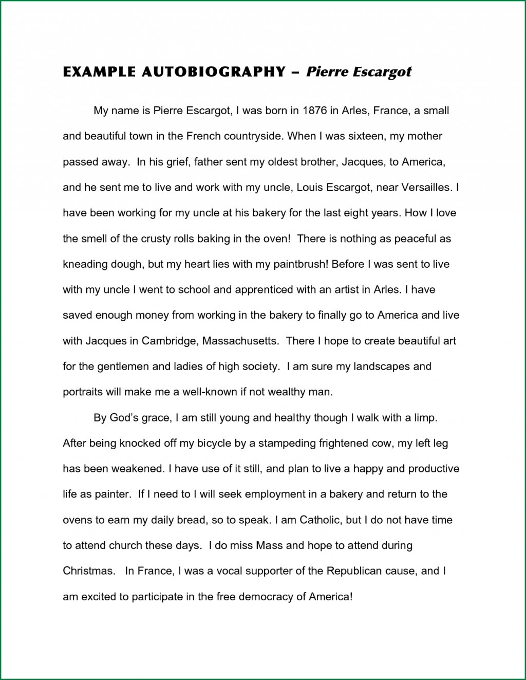 011 Essay Example Examples Free Of An Autography Beautiful Ielts Opinion Download Persuasive High School Large