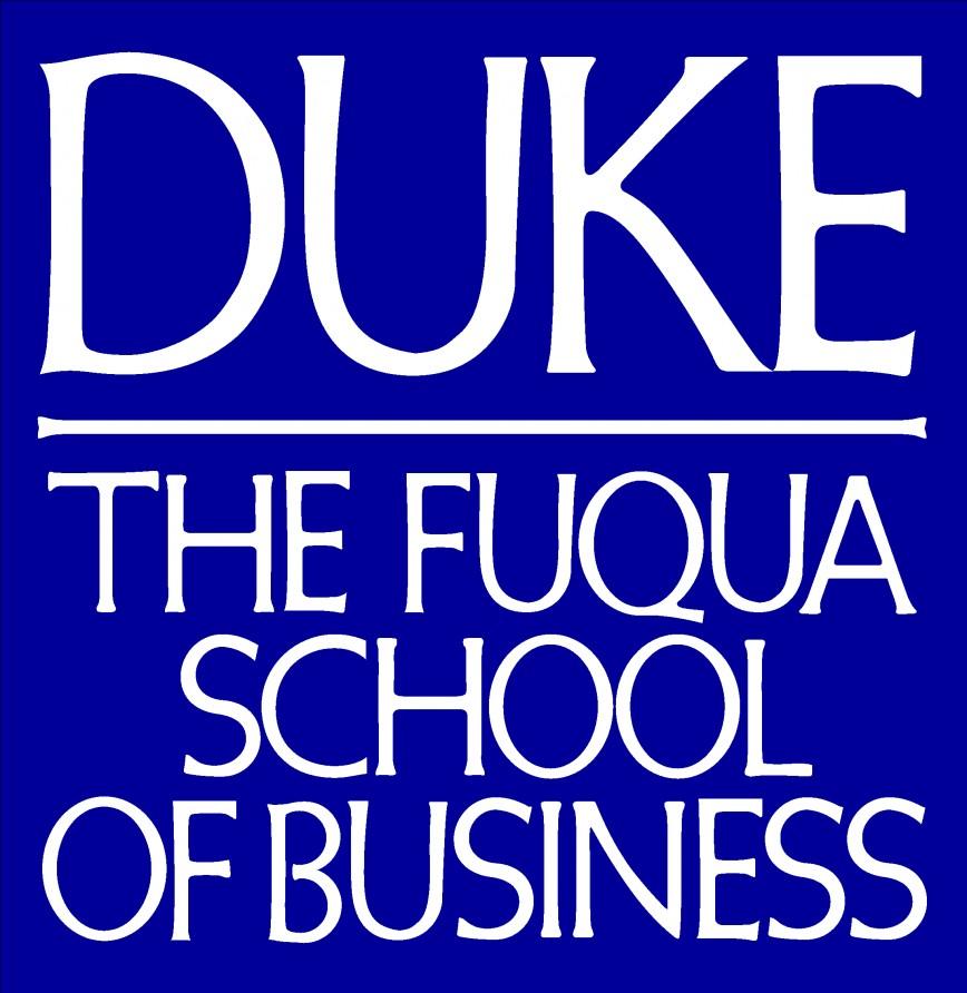 011 Essay Example Fuqua Logo Rgb000099 Duke Fearsome Supplement Collegevine