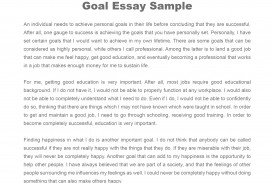 011 Essay Example Goals Career Goal Uniforms Debate Personal Examples L Awesome Sample Graduate School Future For College High