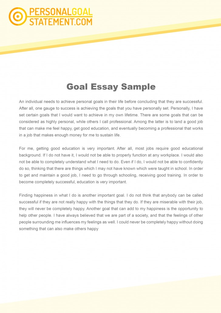 011 Essay Example Goals Career Goal Uniforms Debate Personal Examples L Awesome Mba Consulting Academic For College Sample 728