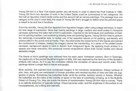 011 Essay Example How To Cite In Yeong Gill Kim Paintings 1998 2007 Staggering Images Text Harvard Style Website Apa Mla