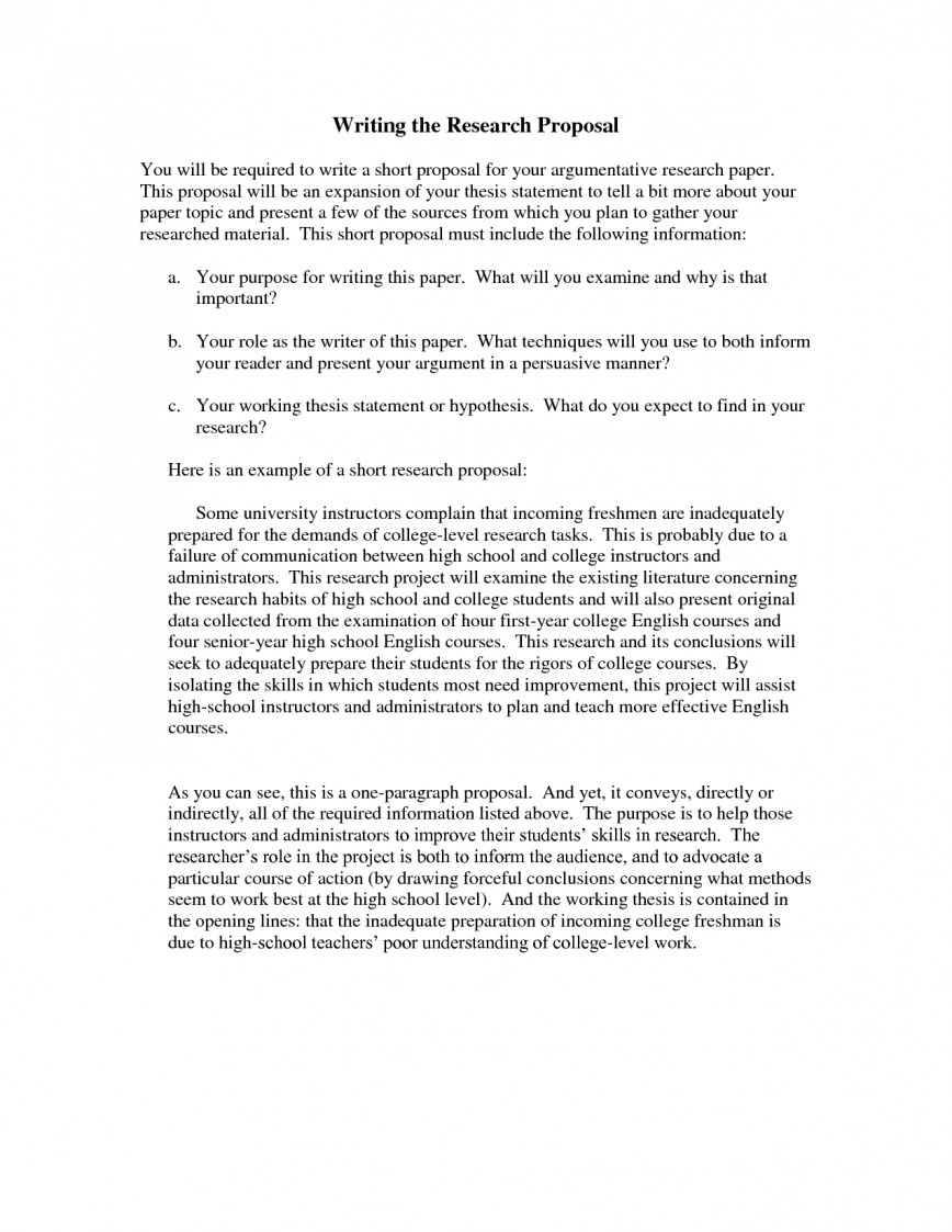 011 Essay Example How To Write Remarkable A Proposal Research Paper Or Thesis In Apa Format Template
