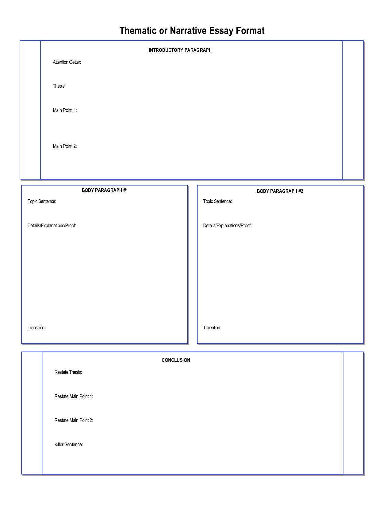 011 Essay Example Narrative Graphic Organizer Incredible Middle School Pdf Story Full