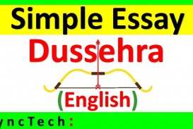 011 Essay Example On Dussehra Festival In English Surprising