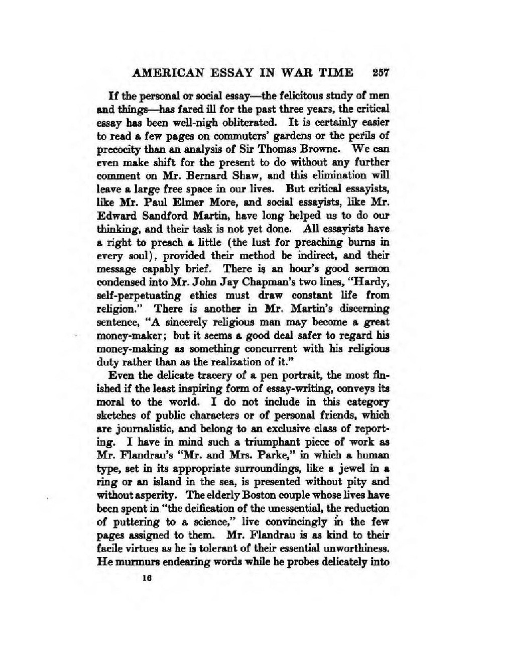 011 Essay Example Page9 1024px The In War Time2c Agnes Repplier2c 1918 Pdf What Is An Stupendous American Thesis Your Dream Ideas Large
